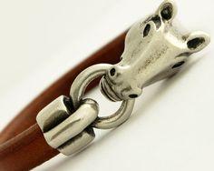Horse Jewelry Horse Bracelet Horse Lover Gift by JulesAtNine
