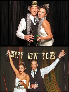 NYE photo booth props!