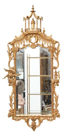 carved & gilded chinoiserie mirror 1stdibs