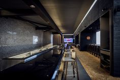 Design by Luchetti Krelle (in collaboration with Steelman Partners). Photography by Michael Wee. Interior Designers Sydney, Noodle Bar, Residential Architect, Japanese Architecture, Restaurant Bar, Hospitality, Collaboration, Table, Restaurants