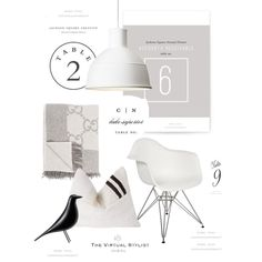 A fashion look created by featuring Eames House Bird, Eames Eiffel Arm Chair, Traditional Royalty Table Numbers, Sash Table Numbers. Browse and shop related looks. Jackson Square, Beautiful Interior Design, Table Numbers, Fashion Looks, Traditional, House, Home Decor, Style, Swag