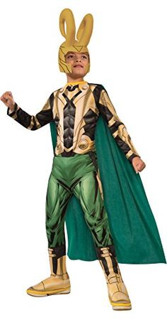Avengers Assemble Loki Costume Childs Medium -- More info could be found at the image url-affiliate link. #SuperheroCostumes
