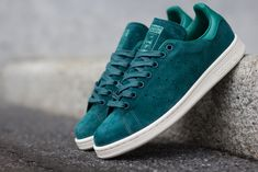 "adidas Stan Smith ""Rich Green"" (Suede)"