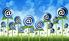 email flowers are sprouting for a internet newsletter inbox contact theme. the flowers have an at symbol to signify an email address. also use it for a spam or marketing concept Event Marketing, Email Marketing, Internet Marketing, Digital Marketing, Writers Help, Your Email, Email Campaign, Call To Action, Best Practice
