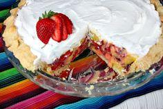 Strawberry Margarita Pie