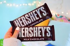 Hershey's chocolate bars ♡