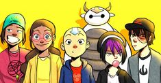 25 Avatar: The Last Airbender Crossover Fan Art Pictures That Are Too Awesome For Words