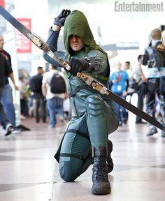Arrow N.Y. Comic-Con 2013 Costumes: Weekend Wardrobe