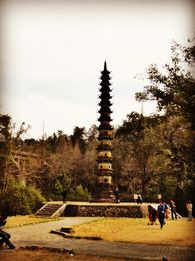 This unique pagoda is just one of the attractions found in Hubei province, China