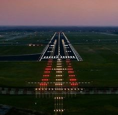 Pilots will recognize this familiar scene. ...