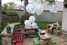"""Photo 5 of 44: Frogs & Snails & Puppy Dog Tails (& Red Wagons) / Birthday """"Carter's 1st Birthday Party""""   Catch My Party"""
