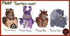 PREVIOUS: NEXT: Los diseños de los personajes de Twisted Ones dentr...