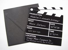 oscars 2012 countdown: party invitations