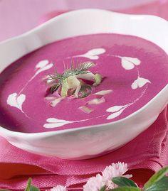Zuppa fredda di barbabietola