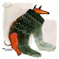 Dogs / SATYRYKON. Agata DUDU Dudek.