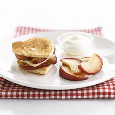 Hartenbroodjes met vanille-appeltjes <3