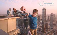 Baba Oğlun Photoshopla Tasarlanan Harika Maceraları