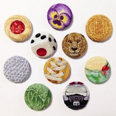 project - ipnot Hand Embroidery, Embroidery Ideas, Punch Tool, Punch Needle, Rug Hooking, Silk Ribbon, Textile Art, Minis, Needlework