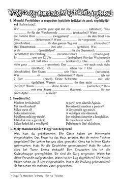Maklári Tamás - Német nyelvtani ABC Material, German, Learning, Words, High School Graduation, Falling Asleep, Learn German, Grammar, Deutsch