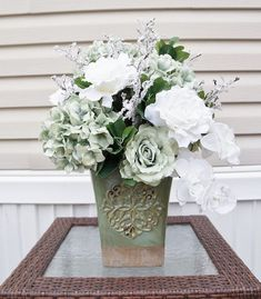 Nice 48 Stunning Spring Floral Arrangements Silk Center Pieces Ideas