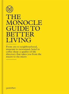 Full of writing, reports, and recommendations, The Monocle Guide to Better living is original, informative, entertaining, and comprehensive. #IndigoFaves #Books #GiftsForHim #Monocle