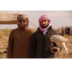 HH Sheikh Majid Bin Mohammed Bin Rashid Almaktoum & Mohammed Sultan Bin Markhan on falconry hunting trip in Uzbekistan...hhsheikhmajid