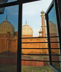 Room With a View : Hotel New City Palace, Delhi