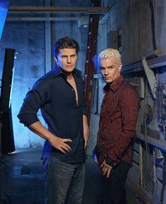 "Angel S5 Cast: David Boreanaz ""Angel,"" James Marsters ""Spike"""