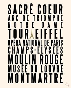 Items similar to Paris City Of Love - Deluxe inch Print on (in French Cream and Black) on Etsy Paris Champs Elysees, Flights To Paris, Beautiful Paris, Love French, Triomphe, Louvre, Paris City, Airline Tickets, Paris Photos