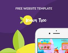"""Check out new work on my @Behance portfolio: """"Free website template download"""" http://be.net/gallery/36947703/Free-website-template-download"""