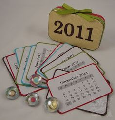 : Altoid tin calendar kit!