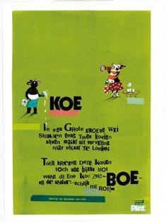 Aan de muur - Poëzieposters - poëzieposter met gedicht Koe van Maartje van Maanen Quotes And Notes, Me Quotes, Poetry For Kids, Home Schooling, Love Words, Drama, Poems, Preschool, Language