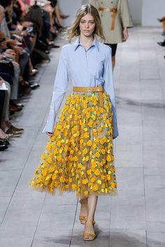 d0d2a09120 New York Fashion Week Spring 2015 Best Runway Looks - Elle- Michael Kors  Spring