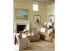 Tour a Waterfront Home with Charming, Romantic Character - Connecticut Cottages & Gardens - March 2016 - Connecticut