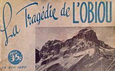 """Antiquité 1950. Pièce de collection. """"La tragédie de L""""OBIOU"""" S Lévis Chaudière-Appalaches image 1"""