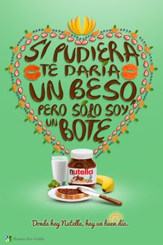 Buen día con Nutella by Alonso Lozano, via Behance