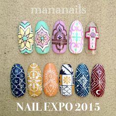MananailsさんはInstagramを利用しています:「NAIL EXPO 2015 today's @mananails time schedule 10:20〜12:00 12:40〜14:30 14:45〜15:15 スペシャルステージ 15:30〜16:30 16:45〜18:30 . ブラシセットをご購入の先着20名様にアートプレゼントこちらのサンプルからお選び頂けます mananailsブースでお待ちしております☺️ . #nailexpo #ネイルエキスポ」