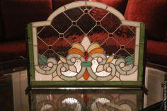 Купить витражная ширма для камина или окна - Витраж Тиффани, стекло, интерьерное украшение, камин