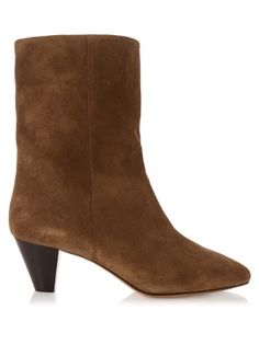 Click here to buy Isabel Marant Dyna suede ankle boots at MATCHESFASHION.COM