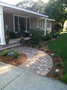 paver walkway design garden | advice for your home decoration ... - Patio Walkway Ideas