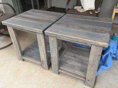Image result for farmhouse end tables images