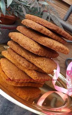 Comment résister à ces petits biscuits épicés,croquants et savoureux. Ces délicieux biscuits sont parfaits avec un petit espresso,ou pour les plus gourmands avec un chocolat chaud...Ig bas bien sur! Cette recette est inspirée de la recette de Marie, pour...