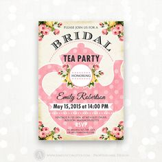 Bridal Shower Invitations. Order your custom invitations at Boardman Printing. Visit our Facebook page.