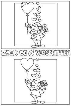 Zoek de 6 verschillen [kleurplaten.nl]