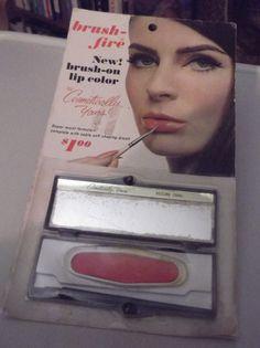 Vintage 1960s Lip Color Deadstock NOS by TimelessTreasuresVCB, $16.00