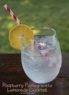 93 Calorie Smirnoff Light Sorbet Raspberry Pomegranate Lemonade Cocktail