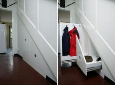 staircase storage - Bing Images