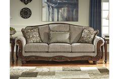 Cecilyn Sofa, by Ashley HomeStore, Cocoa Ashley Furniture Outlet, Ashley Furniture Sofas, Home Decor Furniture, Sofa Furniture, Furniture Ideas, Livingston, Antique Living Rooms, Sofa And Loveseat Set, Beautiful Sofas