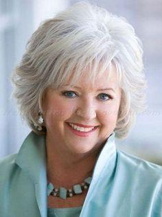 short+hair+styles+for+women+over+50+gray+hair | short haircut for women over 60