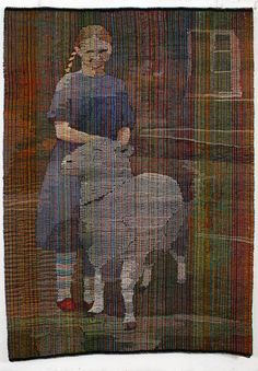 Tapestry Weaving, Sheep, Needlework, Pottery, Textiles, Wool, Handmade, Crafts, Painting